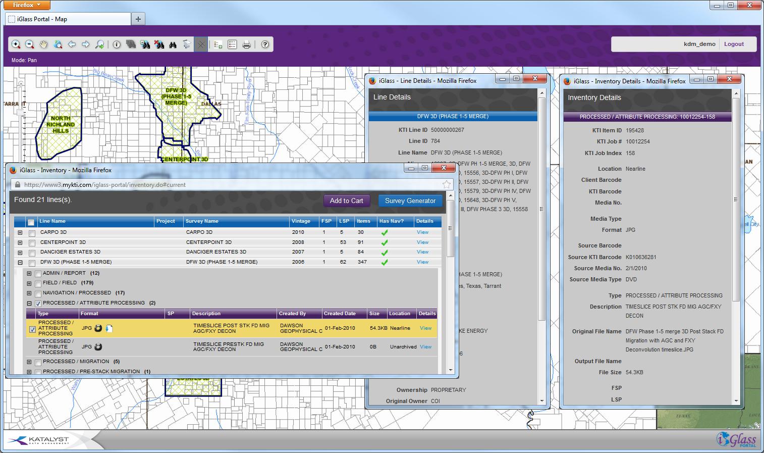 Katalyst Data Management - iGlass